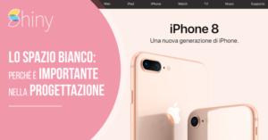 Read more about the article Lo spazio bianco: perché è importante in Grafica (e Web Design)