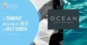 Read more about the article Lo Split Screen: la tendenza Web Design del 2017