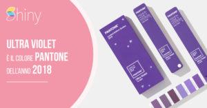 Read more about the article Ultra Violet è il colore Pantone dell'anno 2018