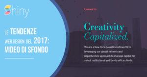 Read more about the article Video di sfondo in Homepage: la tendenza Web Design del 2017