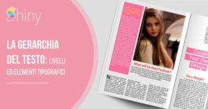Read more about the article La gerarchia del testo: livelli ed elementi tipografici