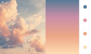 Gradiente di colore naturale