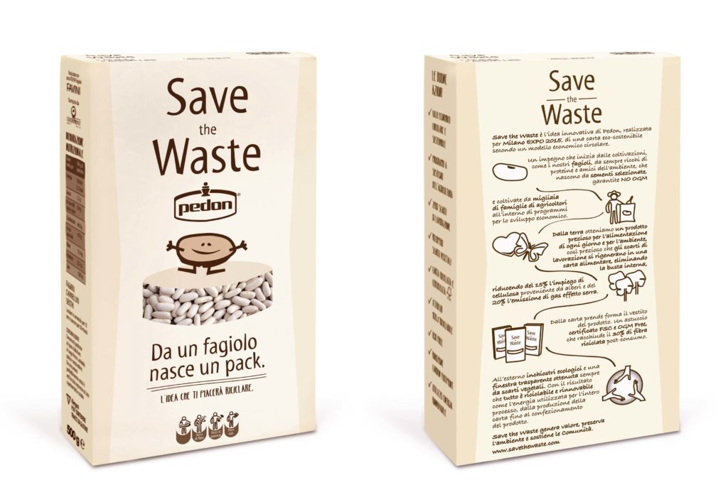 Packaging ecologico Crush Fagiolo