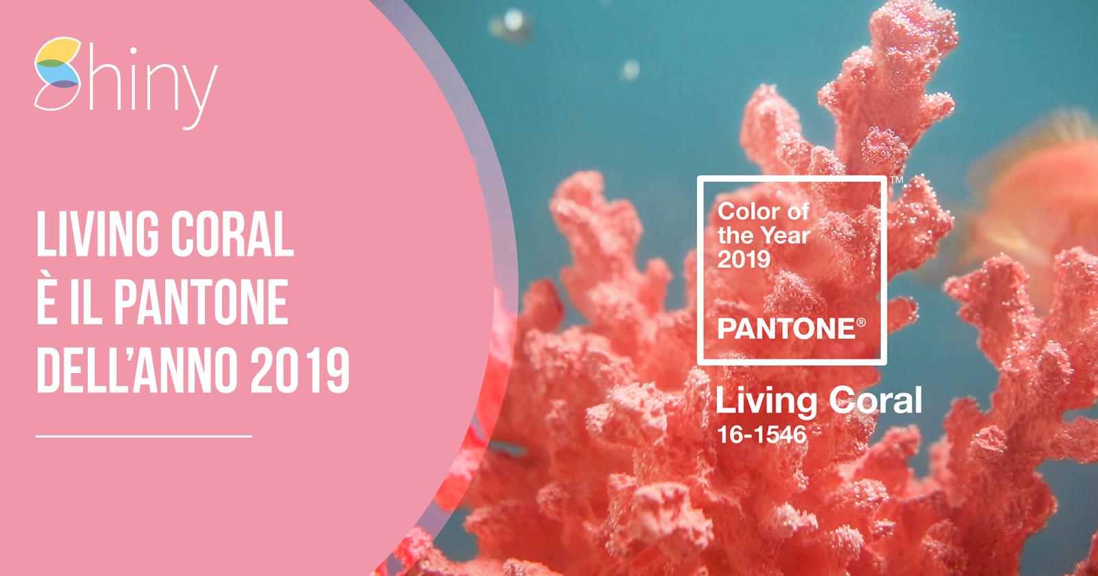 Living Coral è il Colore Pantone dell'anno 2019