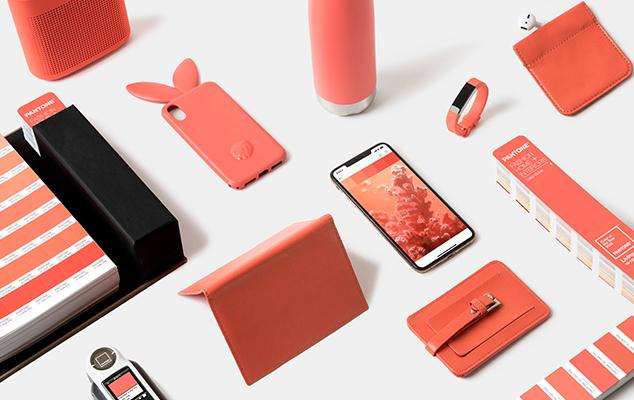 Living Coral, colore Pantone dell'anno 2019 - Usi in Grafica, design, arredamento, moda