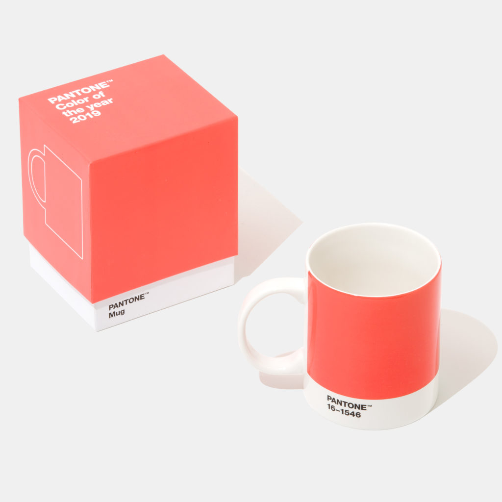Pantone dell'anno 2019 Living Coral - Tazza design