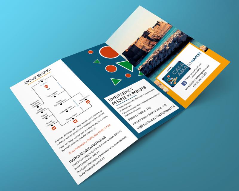 Casa Amato - Brochure e testi - Ante esterne
