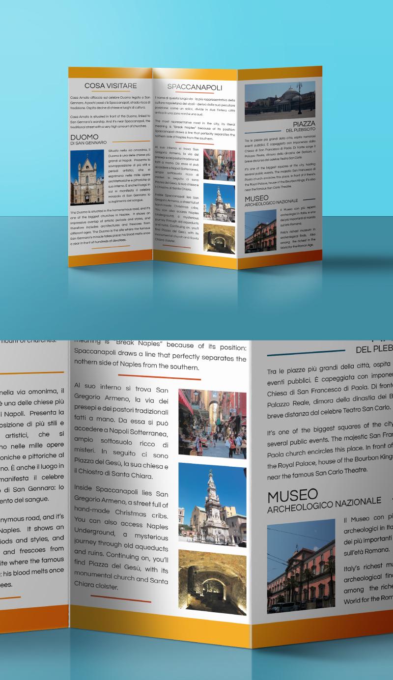 Casa Amato - Brochure e testi - Ante interne centro storico Napoli
