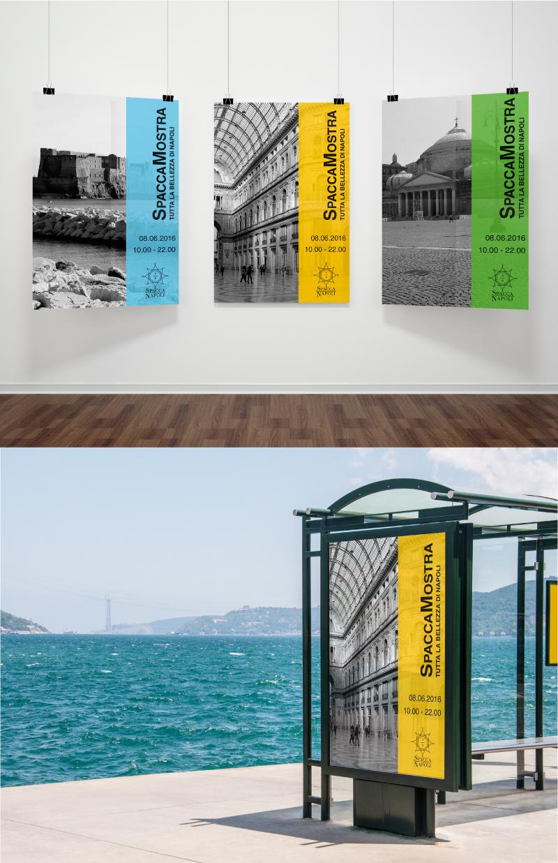 Immagine coordinata e logo Portfolio - Museo - Manifesti
