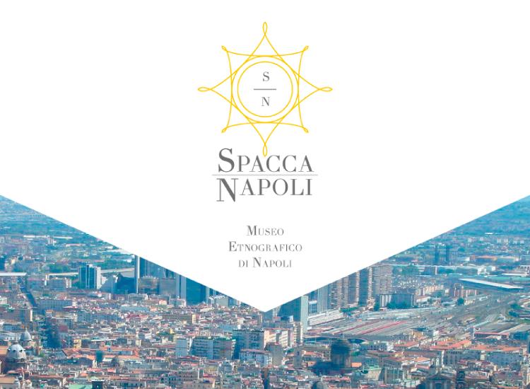 SpaccaNapoli - Immagine coordinata con logo per museo