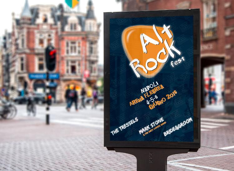 Alt Rock Fest - Manifesto per festival di musica rock