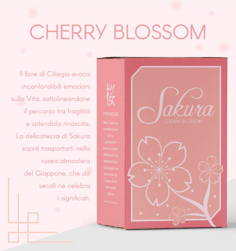 Packaging Portfolio - Profumi orientali - Fiori di ciliegio