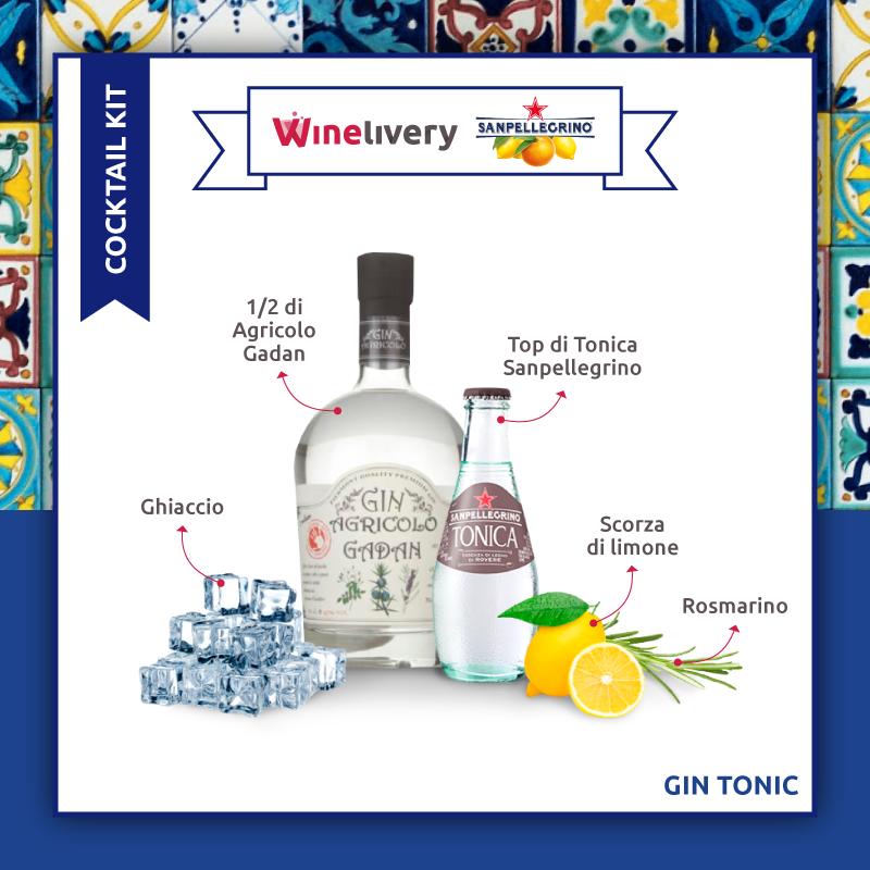 San Pellegrino e Winelivery Facebook post - Gin tonic variante 3