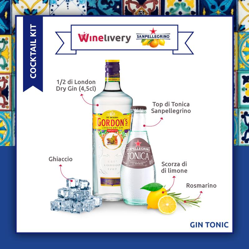 San Pellegrino e Winelivery Facebook post - Gin tonic variante 4
