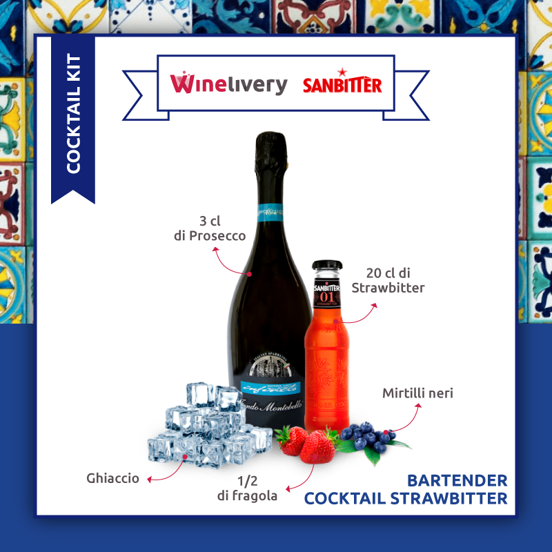 SanBitter e Winelivery Facebook post - Strawbitter