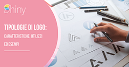 Tipologie di logo: esempi, caratteristiche e utilizzi di Wordmark, Lettermark, Pittogramma, Logo astratto, Emblema.