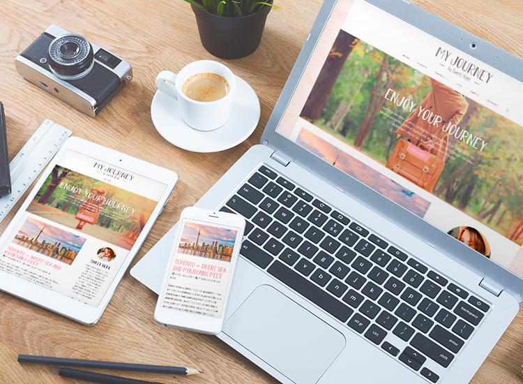 Sito web Portfolio - Blog di viaggi