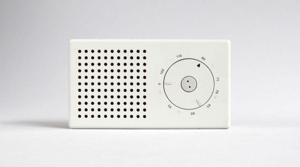 10 principi del buon design di Dieter Rams - Braun radio tascabile T3