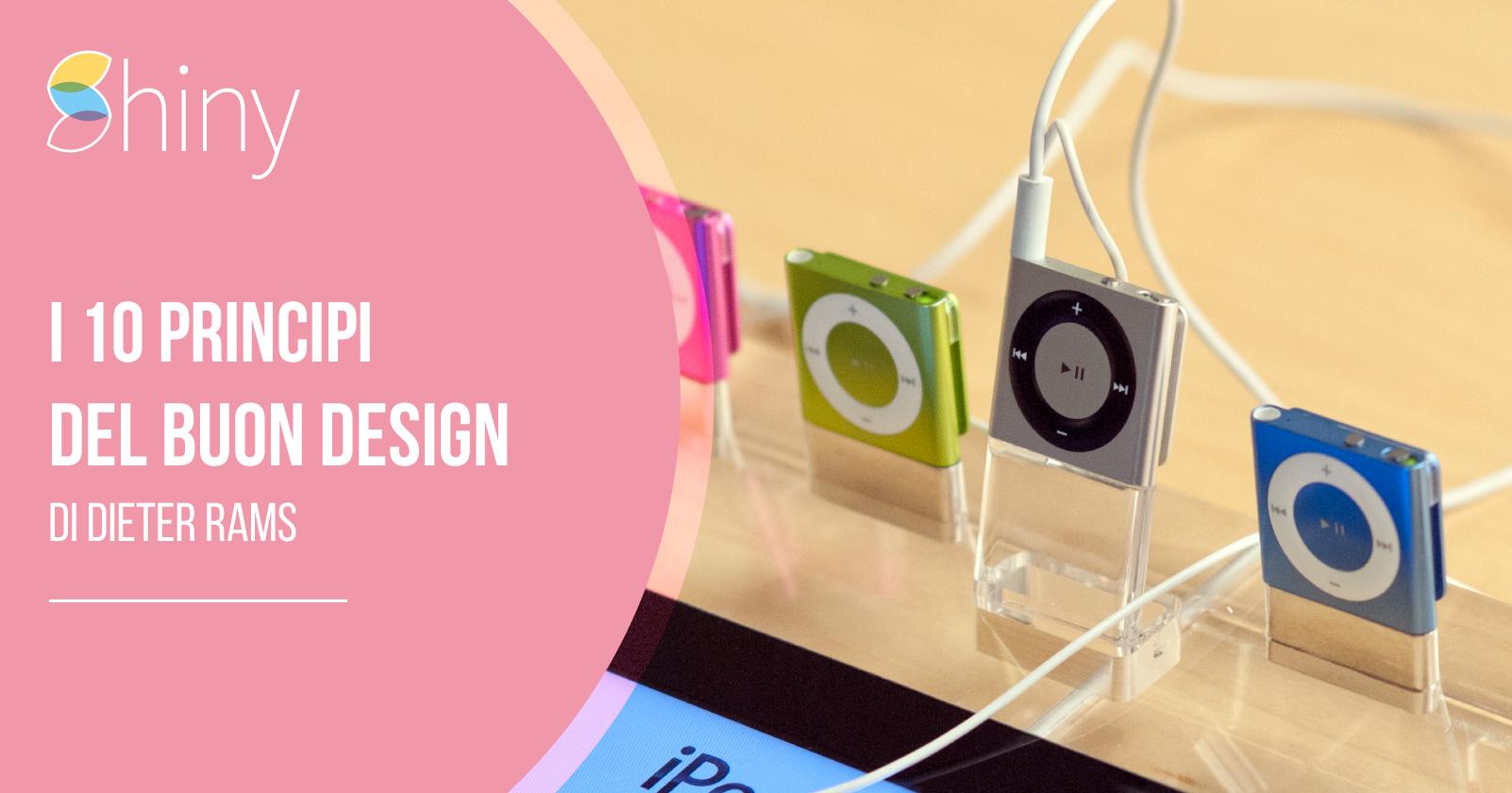 You are currently viewing I 10 principi del buon design di Dieter Rams